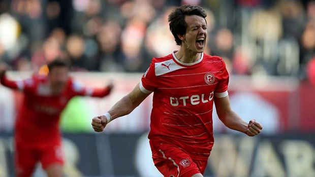 Robbie Kruse is set to play Champions League football next season.