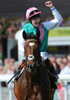 Career change ... Frankel and Tom Queally.
