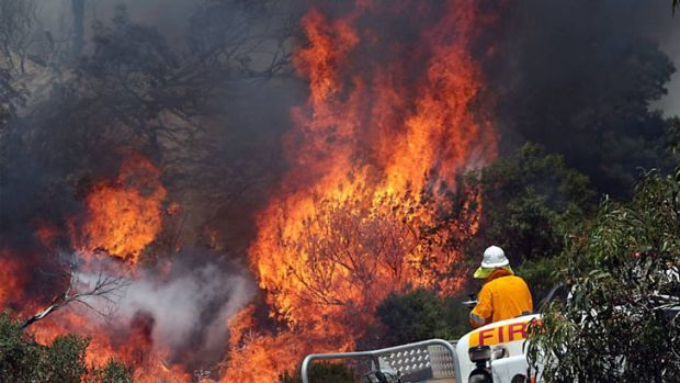 A total fire ban is in place Goldfields Midlands region.
