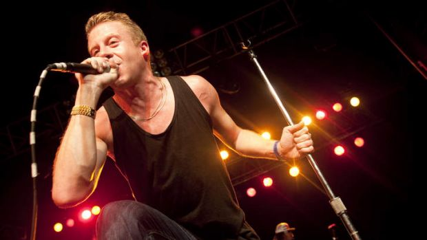 New voice … Macklemore (Ben Haggerty) has singlehandedly brought meaning back to pop music.