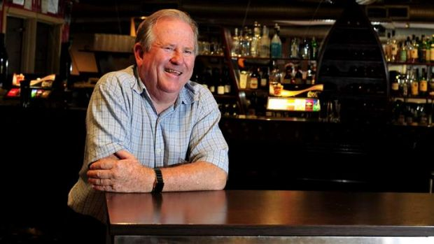 Ian Meldrum, owner of the Holy Grail in Kingston, which will serve its last drinks on Friday.