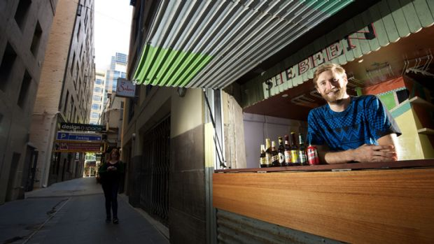 Entrepreneur Simon Griffiths is opening a bar called Shebeen in Manchester Lane in the CBD, with profits going towards  ...