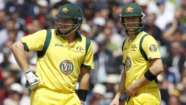 Michael Clarke (R) and Shane Watson will lead a strong Australian team in Canberra.