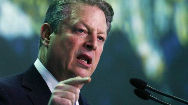 Former US vice-president Al Gore says the carbon tax was a brave move.
