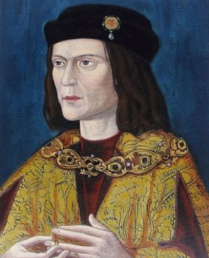The earliest surviving portrait of Richard III.