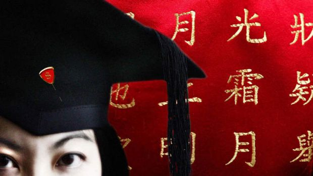 Turnaround ... student enrolments from China and other Asian states are on the rise.