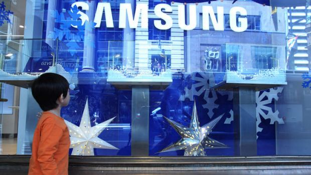 Samsung and Apple want a marquee presence.