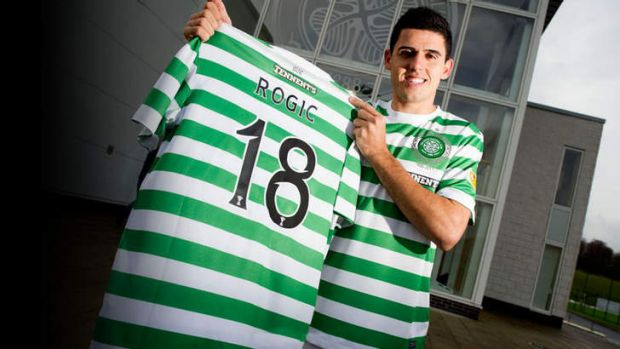 One game, one goal. Tom Rogic scored on debut in the Celtic under-20s side.