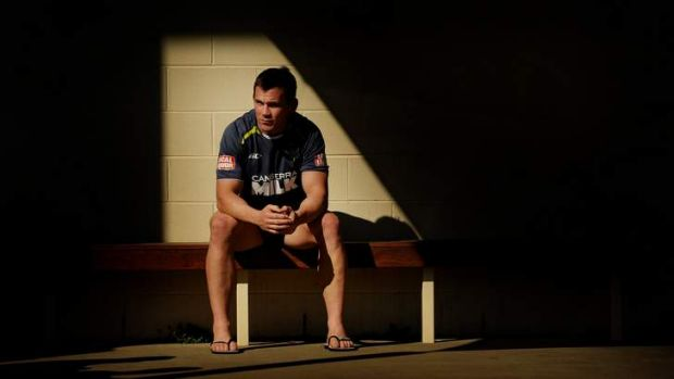 Shaun Berrigan has put his hand up to be the Raiders' starting hooker in 2013.