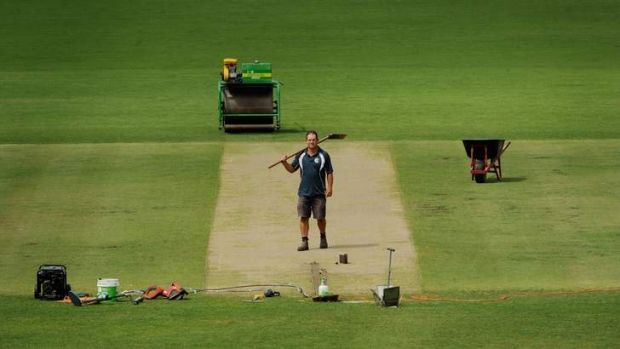 Manuka Oval curator Brad VanDam is confident of producing another high scoring wicket for Wednesday's ODI between ...