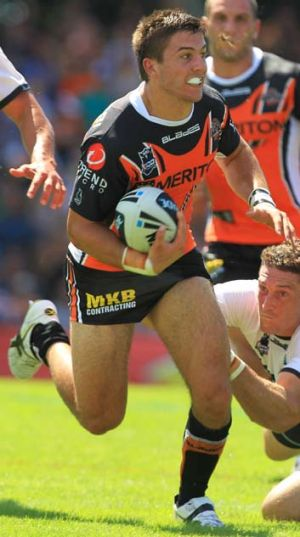 Ripe for return … Tigers back James Tedesco.
