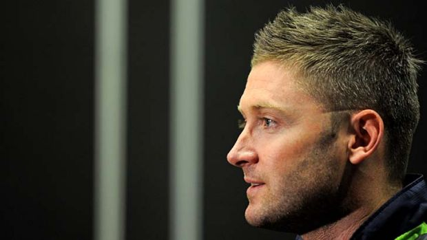 Difficult ... Michael Clarke says the Windies will be hard to beat.