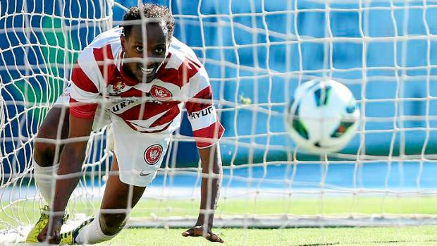 New deal ... Youssouf Hersi of Western Sydney.