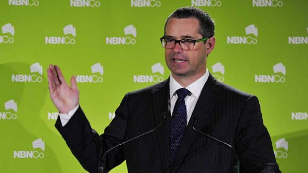 """""""This is a quantum leap for broadband services"""" ... Stephen Conroy."""