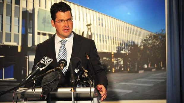 ACT Opposition Leader Zed Seselja would take a cut to his base salary if he manages to move into the Senate