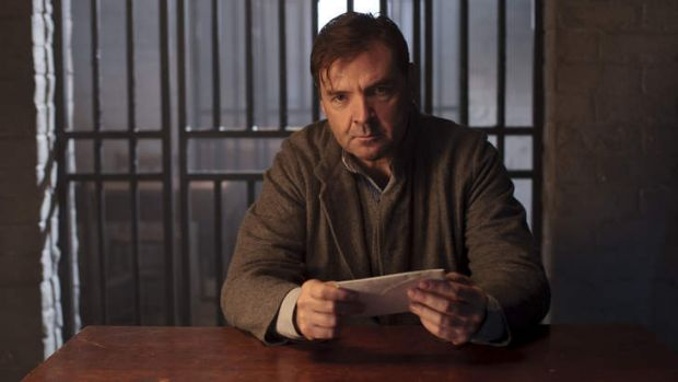 Out of the house but not out of the picture ... Brendan Coyle as valet John Bates in <i>Downton Abbey</i>.
