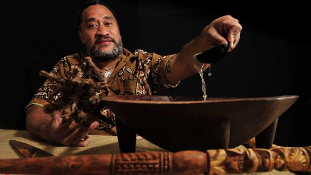 Pacific Islanders, such as Siosiua Lafitani Tofua'ipangai,   will be allowed to drink kava at  the Multicultural ...