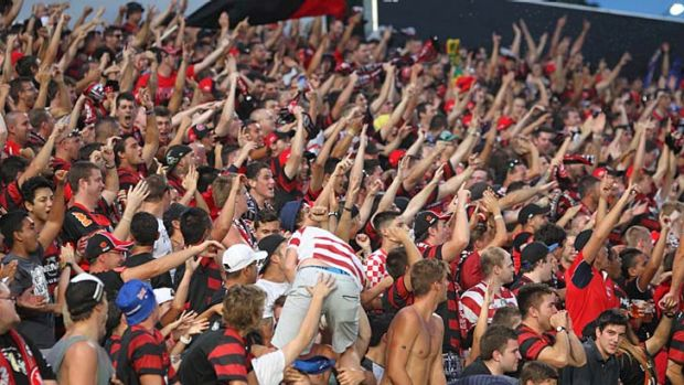 Passionate crew: Western Sydney Wanderers fans have plenty of reasons to cheer.