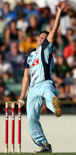 Action doubted ... former fast bowler Aaron Bird.