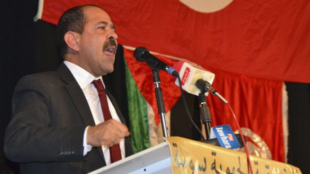 Chukri Beleid, a prominent Tunisian opposition politician, pictured in January. was shot dead on February 6.