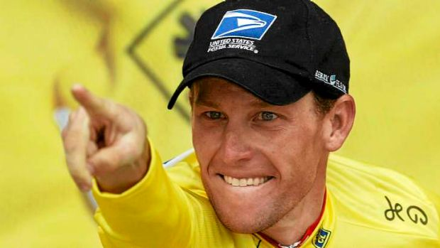 Multiple admissions ... Lance Armstrong.