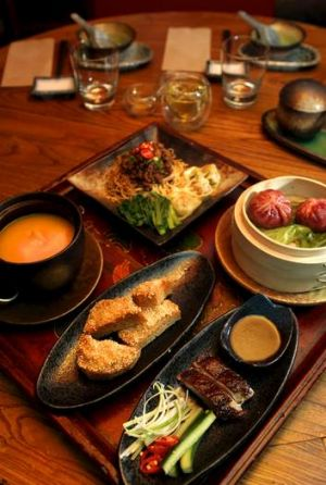 Tasty and substantial ... yum cha with a Malaysian twist.