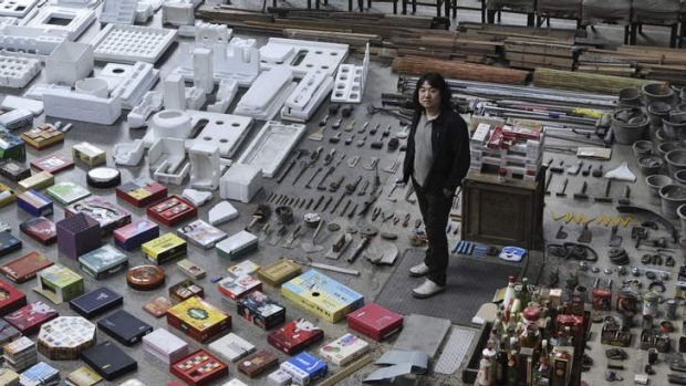 Object lesson … Song Dong displays 10,000 items from his mother's house.