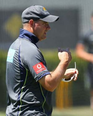 """We certainly won't be taking our foot off the pedal now"" ... Mickey Arthur."