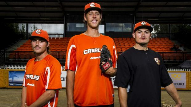 Brian Grening, John Holdzkom and Chris Motta will lead the Cavalry's charge from the mound against Perth.