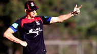 NCH SPORT - Wayne Bennett gives direction  at Knights first training session for the season at Newcastle University -  ...