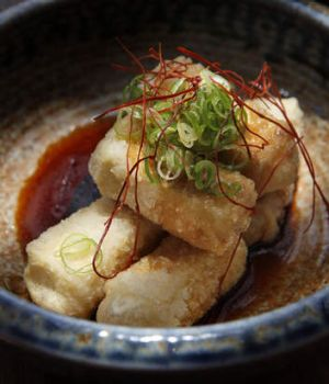 Sake's salt and pepper tofu.