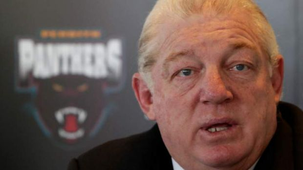 """Nobody has been named, no club has been named"" ... Penrith supremo  Phil Gould."