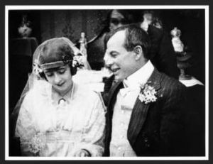 'To live an' love - an' so life mooches on': a scene from 1919's silent film  <i>The Sentimental Bloke</i>,  based on C. ...