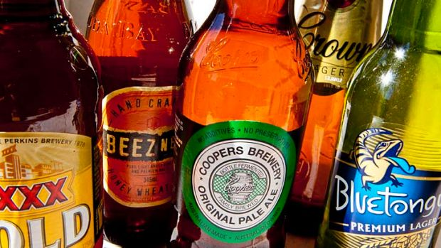 Chilled ... the end of the beer wars means consumers will be paying more.