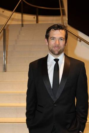 Sharp dressed man ... Patrick Brammall stars in <i>The Elegant Man's Guide to Knife Fighting</i>.