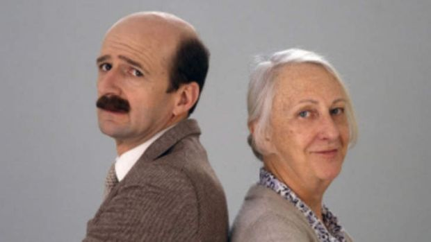 Golden era of Aussie comedy ... <i>Mother and Son</i>.