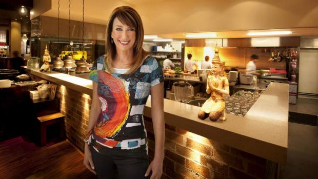 An adventurous palate ... <i>Food Safari</i> host Maeve O'Meara.