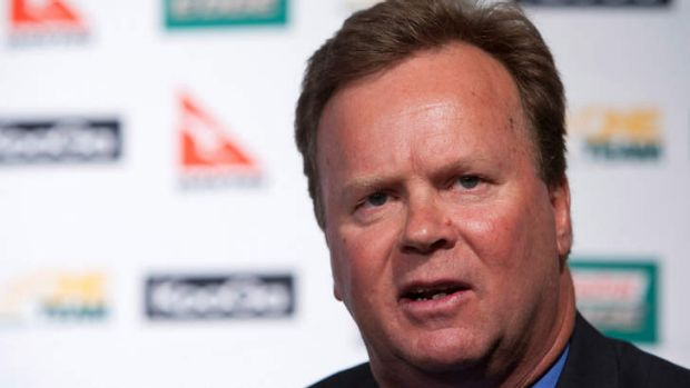 At the helm; CEO of Australian Rugby Union Bill Pulver.