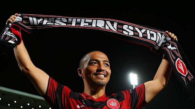 Extension … a new deal is being finalised for Shinji Ono.