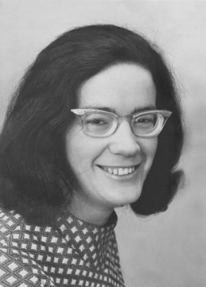 Michelle Grattan in her early days at <i>The Age</i>.