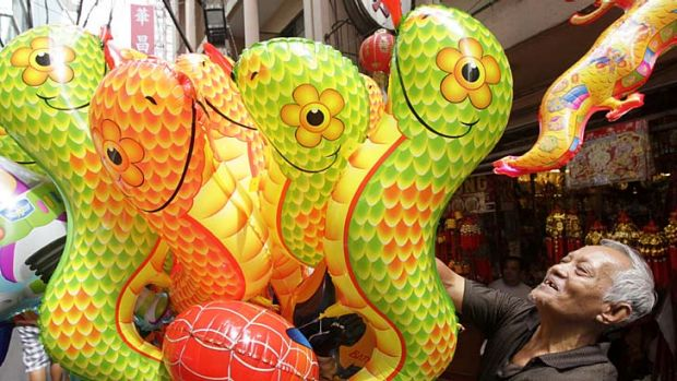 A year of transformation ... Chinese astrologers say the year of the snake will be marked by momentous global events.