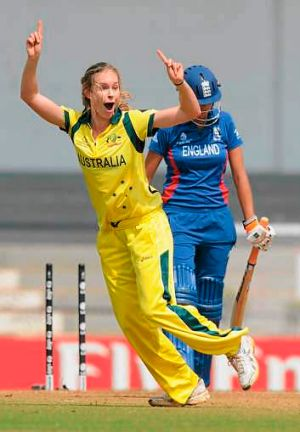 Rising star ... Holly Ferling of Australia.