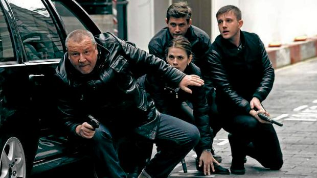 Up to his old tricks … Ray Winstone, left, gives Jack Regan a reboot.