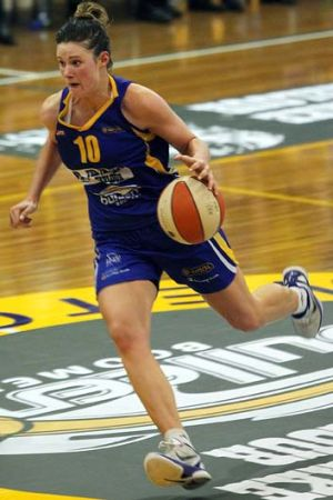 Hoop bound: Alice Kunek is Bulleen's starting small forward.