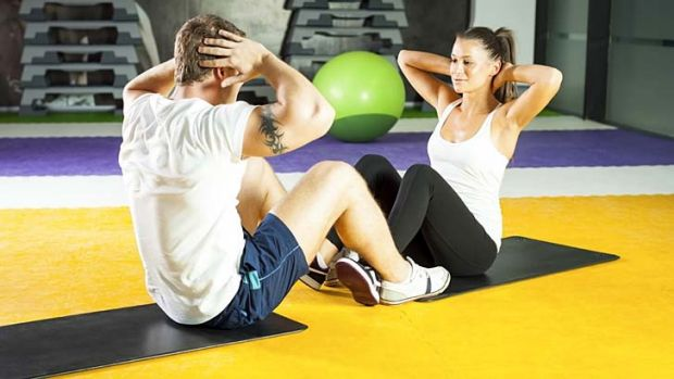 The couple who works out together ... a fitness session can double as date night.