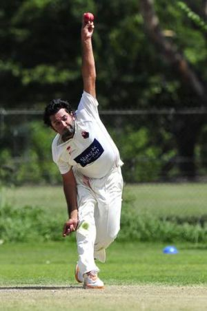 Eastlake bowler Kuunal Lall took five wickets against North Canberra Gungahlin at Ainslie.