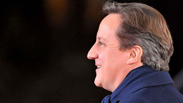 """I think the British people can be proud"" ... British Prime Minister David Cameron."