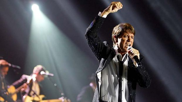 Night of nostalgia … Cliff Richard is still rockin' with the best of them.