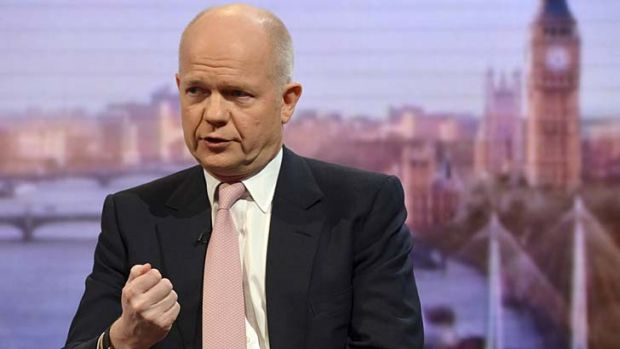 """This is a community that is nearly 200 years old. They seem very determined to remain British"" ... William Hague."