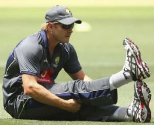 Aiming high ... Shane Watson would like to return to the opening batting slot in India.